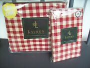 Cold Spring Gingham Cal King X-deep Fitted Sheet Pillowcases - 3 Pc