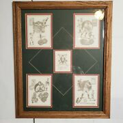 """Christopher Paluso """"the Making Of The Game"""" Signed Sports Art Baseball Vintage"""