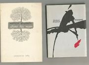 2 Books Moisey Fishbein Apocrypha Untitled Collection Signed 1984 In Ukrainian