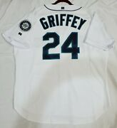 Ken Griffey Jr. 52 2xl Seattle Mariners Russell Athletic Jersey Made In The Usa