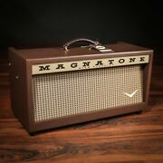 Magnatone Twilighter 22w Reverb/vibrato Tube Head W/ Footswitch And Cover