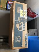 1990 Topps Traded Football Factory Sealed Case Including 50 Complete Sets