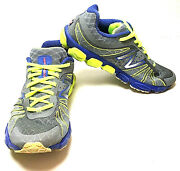 New Balance 890 V4 Barringer Gray/purple/ Neon Yellow Shoes Womenand039s 8.5 W-43