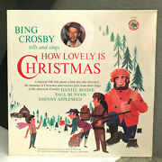 Bing Crosby - How Lovely Is Christmas - 12 Vinyl Record Lp - Sealed