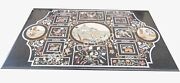 4and039x3and039 Modern Marble Top Dining Table Pietra Dura Inlay Living Room Decor E498