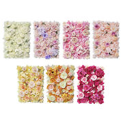 Flower Panels Hydrangea Floral Backdrop For Baby Shower Party Decoration