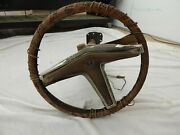 1970and039s Pontiac Steering Column With Steering Wheels Tilt And Cruise