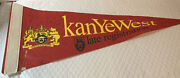 Kanye West Autographed Collectible Pennant Flag