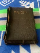 Vtg Antique 1901 Holy Bible With Helps Standard Edition Thomas Nelson And Sons