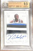 2013 National Treasures Victor Oladipo Rookie Patch Auto /99 116 Bgs 9.5