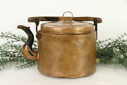 Hand Hammered Copper Antique Dovetailed Farmhouse Tea Kettle 37186