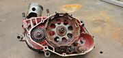1980 80 Cr250 Cr 250 Elsinore Red Rocket Engine Bottom End Cases Crank Gearbox