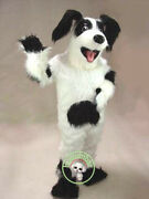 New Year Dog Mascot Costume Suits Cosplay Fancy Party Dress Outfit Adults Size