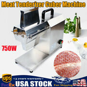 Commercial Electric Meat Tenderizer Machine Cuber Stainless Steel 750w 400x218mm