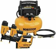 Bostitch Air Compressor Combo Kit, 3-tool 21.1 X 19.5 X 18 Inches, Yellow