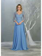 Designer Long Sleeve Mother Of The Bride Dresses Special Occassion And Plus Size