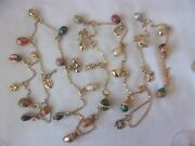 Joan Rivers Egg And Charm Necklace 70 30 Charms Iob And Key
