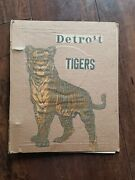 Vintage 1934 Detroit Tigers Scrapbook World Series Rare Newspaper Clippings...