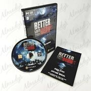 Better Late Than Dead Survival Video Game For Windows Pc And Mac Os X 10.9+ Dvd
