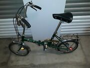 Vintage Folding Bike Rare Huffy Touriste All Original Parts Tested And Working.