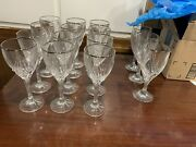 Lenox Debut Platinum Wine Glass Set Of 12 And Water Giass 3 Great Condition