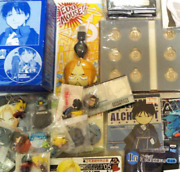 Used Fullmetal Alchemist Anime Goods Badges And Medals And Prizes Various A Lot Set