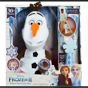 Disney Frozen 2 Follow Me Friend Olaf   Talking Singing Moving With Controller