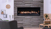Superior Drl2045 45 Modern Linear Direct Vent Gas Fireplace, Package Deal