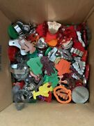 Huge Lot Of Vintage Cookie Cutters Plastic And Metal Hundreds