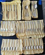 Stieff Homewood Sterling Silver Pat. B Service For 6+ And Serving Pieces 45 Piece