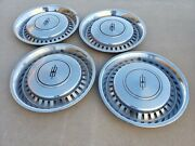 Oem 1975-1977 Oldsmobile Cutlass Hubcap Wheelcover Center Cap Pair Free Shipping