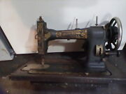 Antique White Rotary Treadle Sewing Machine Model Fr 212948 Patent 1913 Parts