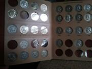 Ben Franklin Half Dollars 1948-1963 Collection Album Some Nice Coins In The Set