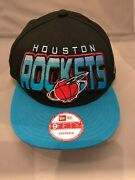Houston Rockets New Era Logo 9fifty Snapback Hat New With Stickers Discontinued