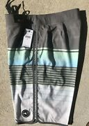 """Nwt O'neill Mens Board Surf Shorts Swimsuit 32 Msrp 54 20"""" Length Heist Gray"""