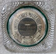 Scarce Glass Roll The Dice United States Iron Company Circa Early 1900s