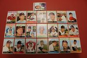 1964 Topps High Number Series Lot 22 Vg Great Investment Baseball Cards Dd17