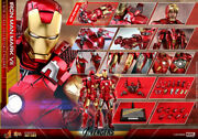 Hot Toys Mms500d27 The Avengers Iron Man Mark Vii Mark 7 1/6 Collectible Figure