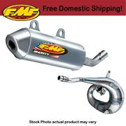 Fmf Powercore 2 Shorty Silencer And Factory Fatty Pipe For 2004-2010 Ktm 125 Sx