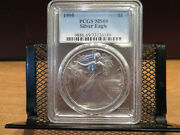 1995 Silver Eagle Pcgs Ms69 Skcse0015