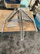 68 69 B Body Vent Window Frames With Glass Dodge Super Bee Plymouth Road Runner