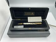 Parker Duofold Se Pearl And Black Mechanical Pencil 0.9mm Wood Box New Year 1991