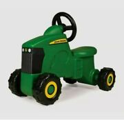 John Deere Sit-n-scoot Ride On Tractor Toy Kids Toddler 18m+ New