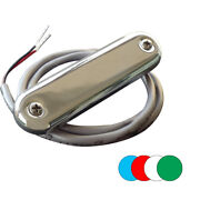 Shadow-caster Courtesy Light W/2and039 Lead Wire - 316 Ss Cover - Rgb Multi-color -