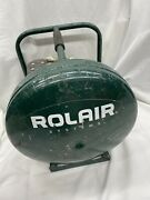 Rolair D2002hpv5 Pancake Compressor 2hp 4.5 Gallon Works Great Ships Fast