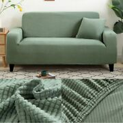 Thick Sofa Protector Jacquard Solid Printed Sofa Covers For Living Room