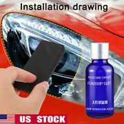 9h Headlight Cover Len Restorer Cleaner Repair Liquid Polish Car Accessories New