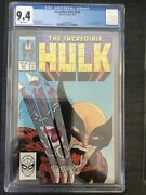 Cgc Incredible Hulk 340 9.4 White Pages