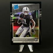 Henry Ruggs Iii 2020 Donruss Optic Rated Rookie True Black 1/1 Psa Bgs You Pick