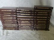 Louis L'amour Collection Leatherette Lot Of 108 Hardcover Books Great Set